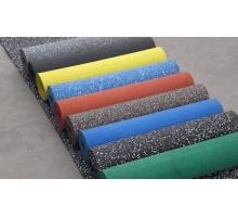 Резиновое рулонное покрытие Микс 15% (плотность 1100) толщ.4 мм