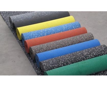 Резиновое рулонное покрытие Флекс Колор (плотность 1000) толщ.24 мм