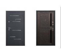 Металлическая дверь Romanio 3K 9 см Царга Темный кипарис 2050x860(960) наполнение пенополистирол