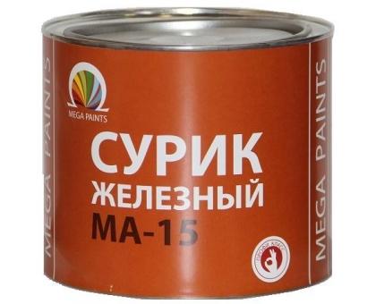 Сурик железный МА-15 (красно-корич.) 1уп-25кг