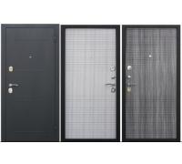 Металлическая дверь Гарда 7,5 см муар Белый ясень, Венге тобакко 2050x860(960) наполнение пенополистирол