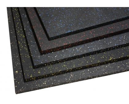 Покрытие для тренажёрного зала 0,75x0,75x10мм ШОР 70