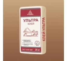 Клей для керамогранита и природного камня «Ультра» 25 кг.(адгезия 1,5 Мпа)