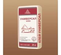 Клей для керамической плитки и керамогранита «Универсал» 25 кг.(адгезия 0,8 Мпа)