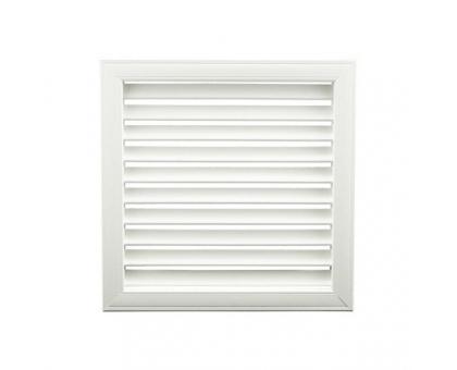 Вентиляционная решётка Белый, Ёлка, 600x600 мм